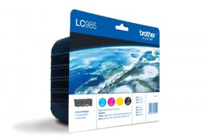 Brother LC-985 CMYB 4 PACK Inkjet / getto d'inchiostro Cartuccia originale
