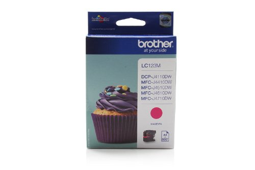 Brother DCP-J 132 W (LC-123 M) - original - Ink cartridge magenta - 600 Pages
