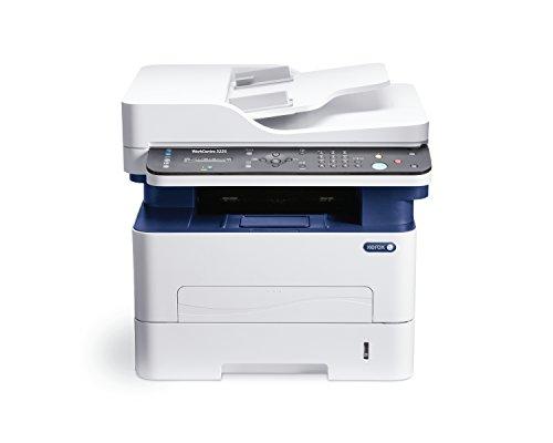 Xerox 3225V_DNI Workcentre Stampante LASER All-in-One, Wi-Fi, Grigio/Blu