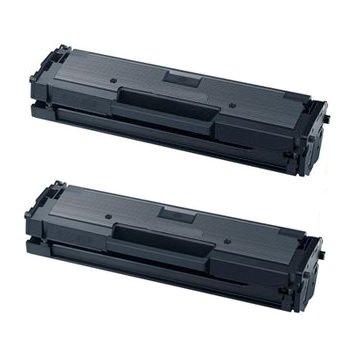 2 X TONER COMPATIBILE per Samsung Xpress M2020, M2020W, M2022, M2022W, M2070, M2070F, M2070FW, M2070W. Durata 1.000 Pagine al 5% di Copertura