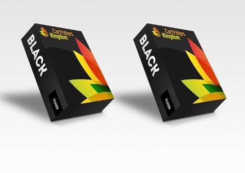 2 x Toner Compatibile per HP LaserJet 5000, 5000DN, 5000GN, 5000LE, 5000N, 5100, 5100DTN, 5100LE, 5100N, 5100SE, 5100TN, Canon LBP-840, LBP-850, LBP-870, LBP-880, LBP-910, LBP-1610, LBP-1620, LBP-1810, LBP-1820, ImageClass 2200, 2210, 2220, 2250, LP-3000, LP-3010, FP-300, FP-400, Copier GP-160F Stampanti (2BK)
