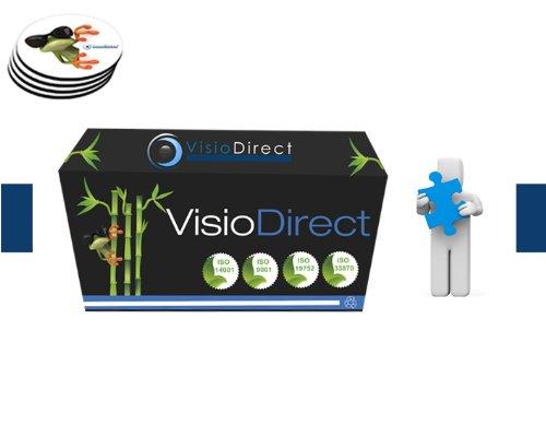 Toner Cartuccia Laser Ciano/Azzuro CE311A 1000 Pagine generico per stampante HP LASERJET PRO CP1025 Certificato ISO 9001 ISO 14001 + (Offerte sottotazza) - Visiodirect -