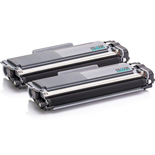 2 Toner compatibile con Brother TN-2320 / DCP-L 2500 D / 2500 Series / 2520 DW / 2540 DN / 2560 DW / 2700 DW / HL-L 2300 D / 2300 Series / 2320 D / 2321 D / 2340 DW / 2360 DN / 2360 DW / 2361 DN / 2365 DW / 2380 DW / MFC-L 2701 / 2700 DW / 2700 Series / 2701 DW / 2703 DW / 2720 DW / 2740 CW / 2740 DW Noir 2600 Pages