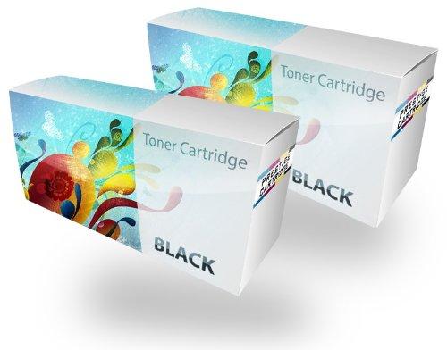 Toner Compatibile EP62/C4129X Cartuccia Laser per Stampanti Canon LBP-840, LBP-850, LBP-870, LBP-880, LBP-910, LBP-1610, LBP-1620, LBP-1810, LBP-1820, ImageClass 2200, 2210, 2220, 2250, LP-3000, LP-3010, FP-300, FP-400, Copier GP-160F, HP LaserJet 5000, 5000DN, 5000GN, 5000LE, 5000N, 5100, 5100DTN, 5100LE, 5100N, 5100SE, 5100TN - DUE NERI