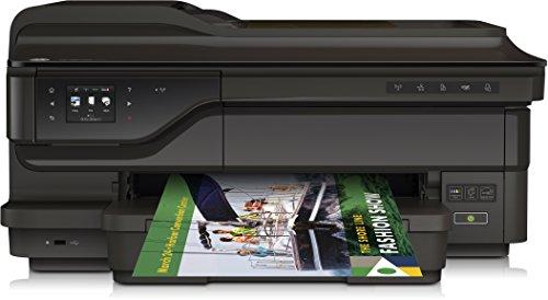 HP G1X85A Officejet 7612 E-All-In-One Stampante per Grandi Formati, Nero