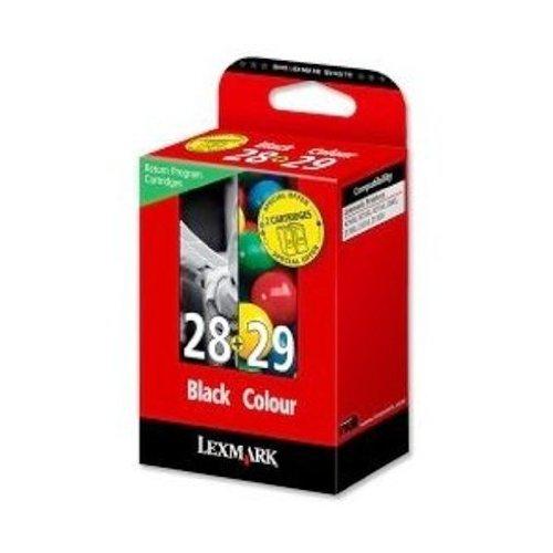 Lexmark 18C1520 NO 28 + NO 29 Inkjet / getto d'inchiostro Cartuccia originale
