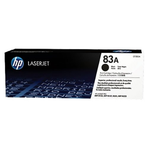 HP - Hewlett Packard LaserJet Pro MFP M 125 nw (83A / CF 283 A) - original - Toner black - 1.500 Pages