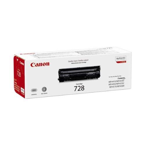 Canon CRG 728 Cartuccia Toner 2100 pagine al 5% di Copertura, colore: Nero