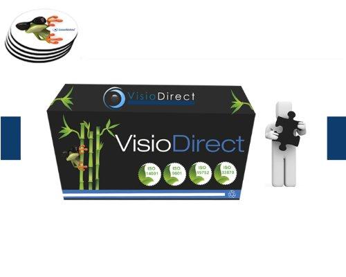 Toner Cartuccia Laser Nero CE310A 1200 Pagine generico per stampante HP LASERJET PRO CP1025 Certificato ISO 9001 ISO 14001 + (Offerte sottotazza) - Visiodirect -
