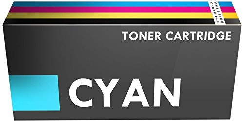 Prestige Cartridge Toner Laser Compatibile con Stampanti Canon i-SENSYS/HP Colour LaserJet, Ciano