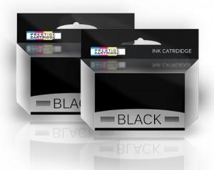 Prestige Cartridge 29XL Cartuccia d'Inchiostro Compatibile per Stampanti Epson Expression Home XP-235/XP-335/XP-432, 2 Pezzi, Nero