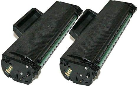 2 TONER COMPATIBILI per Samsung ML-1660 / ML-1661 / ML-1665 / ML-1670 / ML-1675 / ML-1860 / ML-1865 / ML-1865W / SCX-3000 / SCX-3200 / SCX-3205 / SCX-3205W / MLT-D1042S con CHIP da 1500 copie cadauno