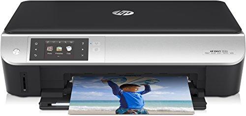 HP ENVY 5530 e-All-in-One Stampante, Stampa/Copia/Scansione, Foto, Web, Nero/Argento
