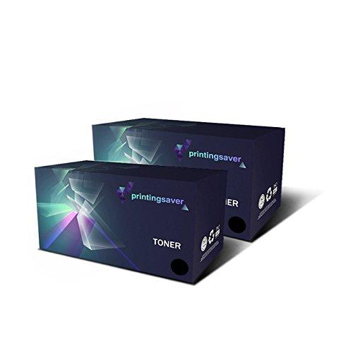 Printing Saver C7115X/15X NERO (2) toner per HP LaserJet 1000, 1005, 1200, 1220, 3080, 3300, 3310, 3320,3330, 3380 stampanti - Sostituzione Compatibile