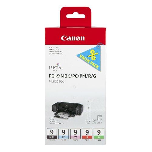"""Canon PGI-9 MBK/PC/PM/R/G Serbatoio Inchiostro """"MULTIPACK"""""""