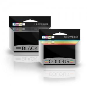 COMBO PACK - Compatibile T036 & T037 Cartucce di inchiostro per Epson Stylus C42, C42UX, C42 Plus, C42S, C42SX, C44, C44 Plus, C44UX, C46 Stampanti - UN SET