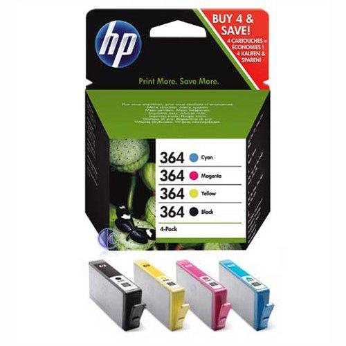 HP SD534EE NO 364 Combo-pack Cyan/Magenta/Yellow/Black Inkjet / getto d'inchiostro Cartuccia originale