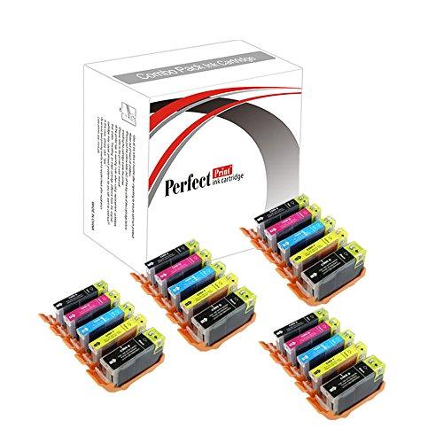 20 Canon Compatibile PGI-550 / CLI-551 cartucce di inchiostro per Canon Pixma iP7250 iP8750 iX6850 MG5450 MG5550 MG6350 MG6450 MG7150 MX725 MX925, 4x PGI 550BK, 4x CLI 551BK, 4x CLI 551C, 4x CLI 551m e 4x CLI 551Y