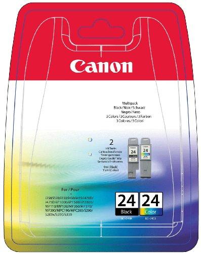 Canon BCI-24BK S 300 2 PK Inkjet / getto d'inchiostro Cartuccia originale