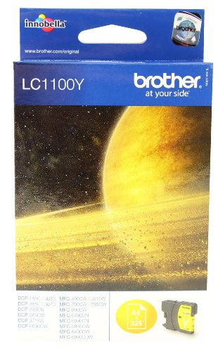 Brother LC 1100 Y Inkjet / getto d'inchiostro Cartuccia originale