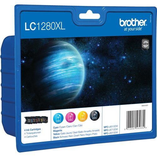 Brother LC-1280XL 4 PACK Inkjet / getto d'inchiostro Cartuccia originale