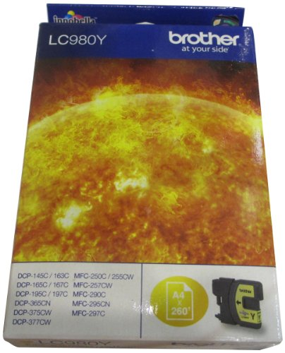 Brother LC-980Y Inkjet / getto d'inchiostro Cartuccia originale