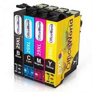 OfficeWorld Compatibile Epson 29XL Cartucce d'inchiostro Lavorare con Epson Expression Home XP-235 XP-332 XP-335 XP-432 XP-435